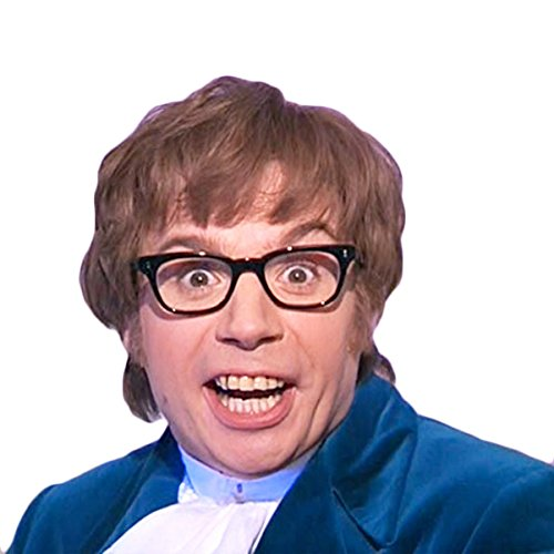 Austin Powers Costume Kit with Glasses and (Austin Costume Stores)