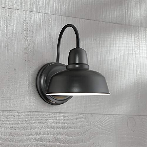 Urban Barn Rustic Outdoor Wall Light Fixture Farmhouse Black 11 1/4