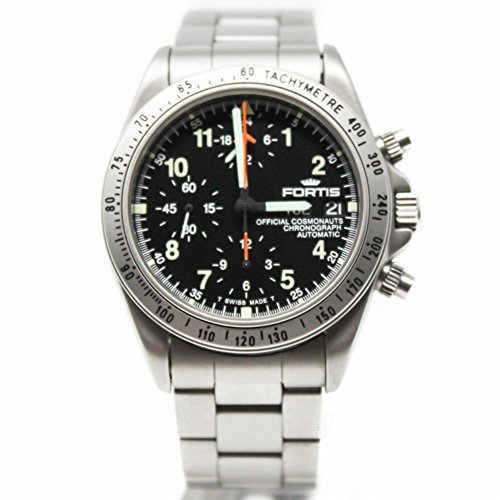 Fortis Cosmonaut automatic-self-wind mens Watch 6022211SET (Certified Pre-owned)