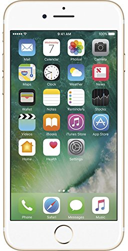 Apple iPhone 7, 32GB, Gold - Fully Unlocked (Renewed)