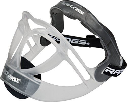 Softball Mask Face (Rawlings Sporting Goods Fielders Face Mask, One Size, Clear)