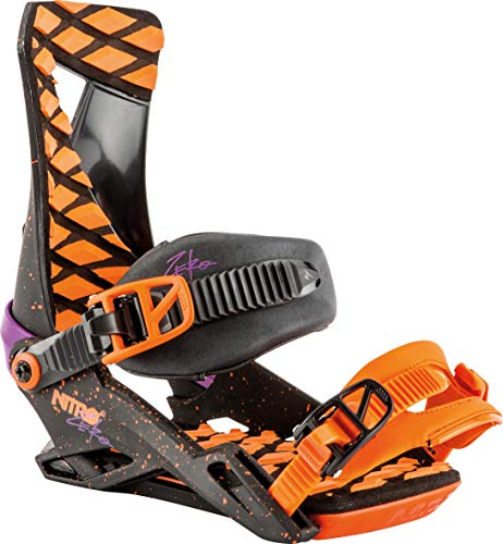 Nitro Mens Zero Snowboard Bindings 2019 / M/Throwback ()