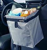 Automotive : High Road TrashStash Leakproof Hanging Car Trash Bag with Spring Frame Closure - Gray