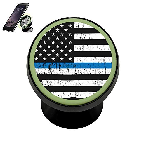 CKSJZJ Police Academy 2018 Graduation - Thin Blue Line Magnetic Phone Car Mount Holder 360 Rotation Magnetic Car Phone Holder - Lamp Academy Desk
