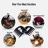 MYNER Original Meat Claws,Bear Paws Pulled Pork Shredder Claws - BBQ Meat Handler Forks - Shredding Handling & Carving Food - Claw Handler Set for Pulling Brisket from Grill Smoker or Slow Cooker