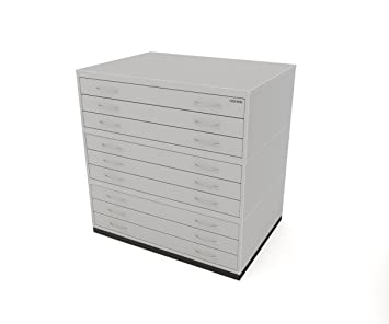 Traditional A1 9 Drawer Plan Chest GREY Paper Storage Cabinet With Nine  Drawers Capable Of Holding