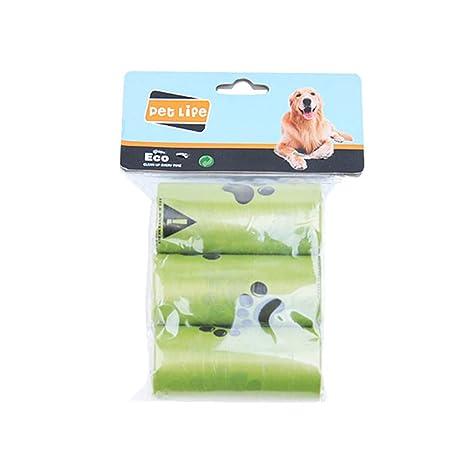 WuLi77 Bolsas biodegradables para Caca de Perro o Perros y ...