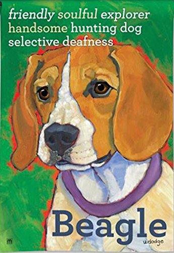 Beagle Garden Flag - BreezeArt Beagle Garden Flag 31169