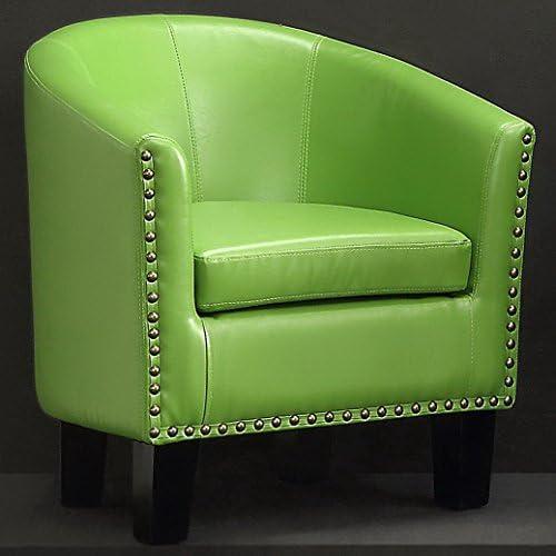 Rosevera Duilio Barrel Chair, Green