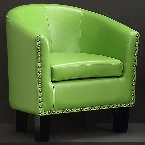Rosevera C2GN Duilio Barrel Chair, Green