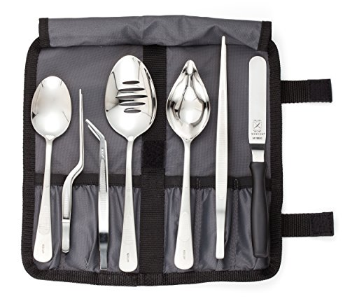 mercer-culinary-m35149-professional-chef-plating-kit-8-piece-stainless-steel-black