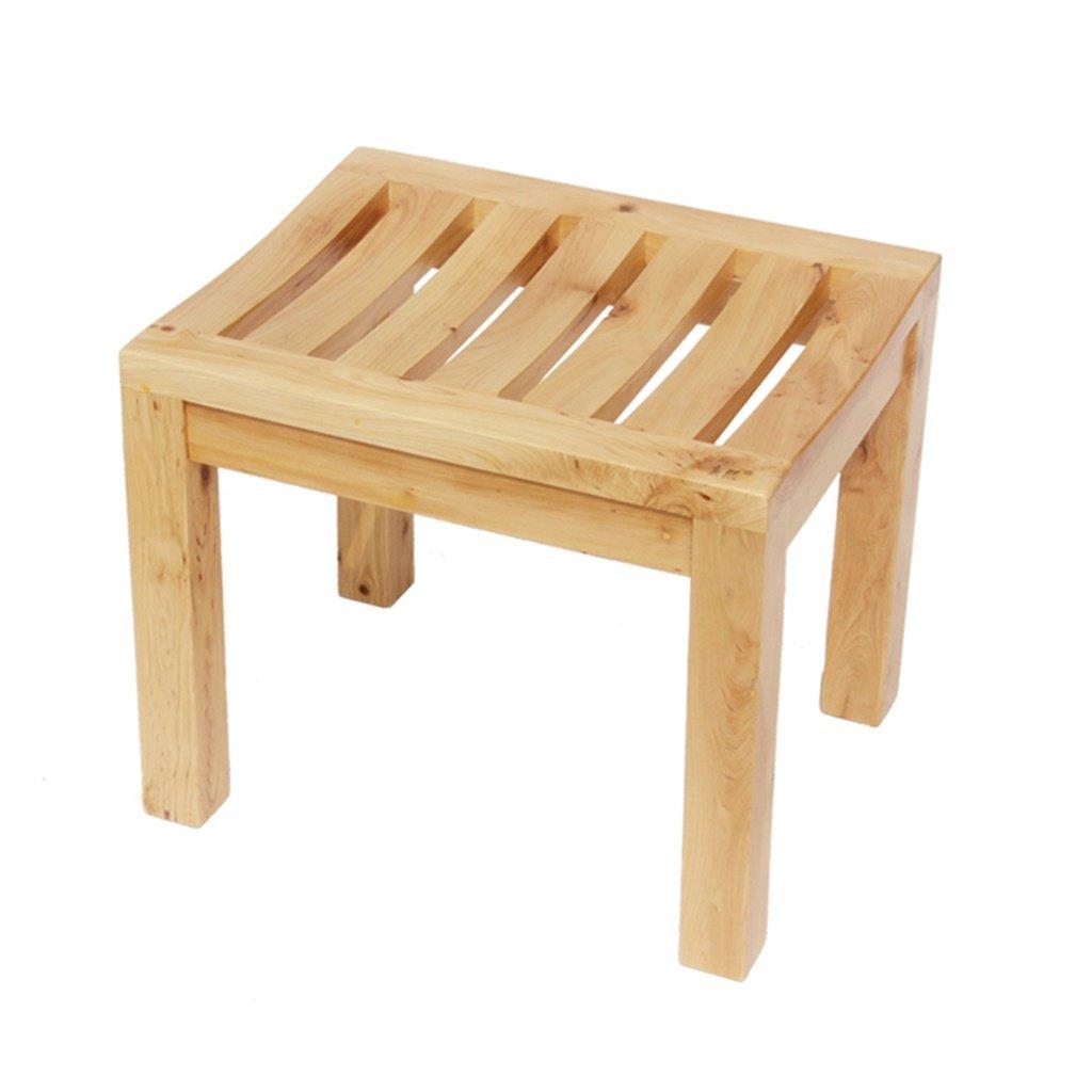 超激安 ヘルスケアシャワースツール バスルーム腐食防止滑り止め安全性増粘コンフォートバスチェアメイク足底の交換靴スツール高齢者/障害者 :/妊娠中の無垢材の木のバススツール曲面の椅子最大。 250kg バスルームバススツール 250kg (色 B07K1C9N5W : A) A B07K1C9N5W, I LOVE BRAND:ed1bc6a1 --- arianechie.dominiotemporario.com