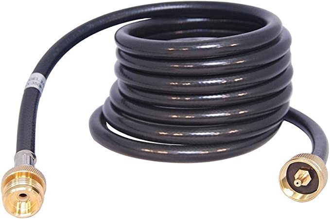 8/' Propane Extension Hose for 1LB Cylinder Distribution Tree T and Y connector