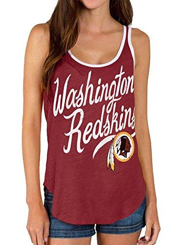 Junk Food NFL Washington Redskins Crimson Red Juniors Tank Top (Juniors - Washington Redskins Tank