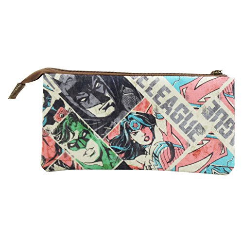 DC COMICS Justice League - Stationery Set bag For Travel and - Google Versace