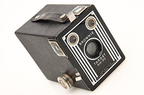 Vintage Kodak Brownie Target Six-20 Art Deco Box Camera (Brownie Camera)