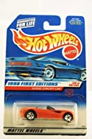 Hot Wheels - 1998 First Editions - Dodge Concept Car - Convertible - Red - #35 of 40 Cars - Die Cast - Collector #672 - Limited Edition - Collectible 1:64 Scale