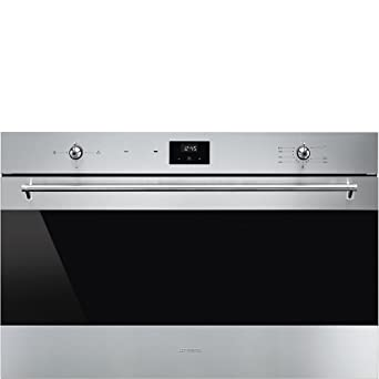 Smeg SF9300GVX1 Gas natural 102L A Acero inoxidable - Horno ...