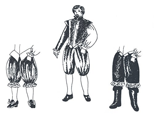 Venetian Slops and Cavaliers Pattern (Elizabethan Costume Pattern)