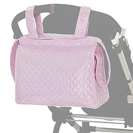 BOLSO Talega/ Panera Maternal Carro Bebe ROSA. Incluye bolsillos ...