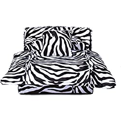 Mini Bed Zebra Pet Bed