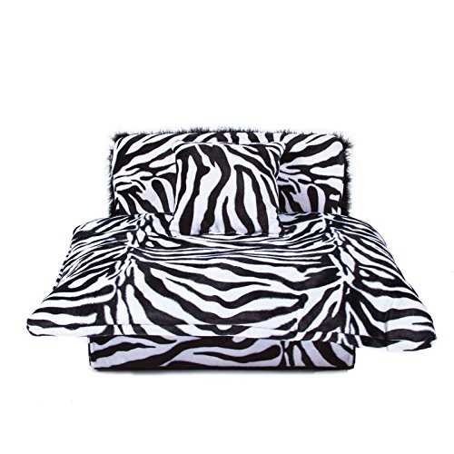 Keet Mini Bed Zebra Pet Bed