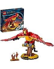 LEGO 76394 Harry Potter Fawkes Dumbledore's Phoenix Building Set, Bird Model Figure, Collectible Mechanical Toy