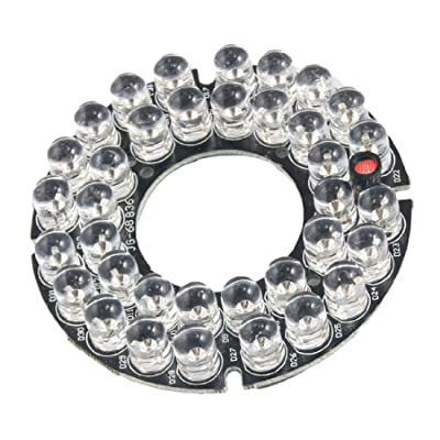 8mm 10-LED 60 Degree Infrared Bulbs IR Board for Security Camera