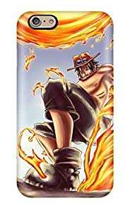 Premium QNYcwGO6294BhUKN Case With Scratch-resistant/ One Piece Anime Acertgas D Ace Case Cover For Iphone 6