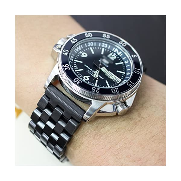 22mm-SUPER-Engineer-Type-II-Solid-Stainless-Steel-Watch-Band