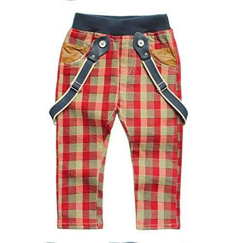 eTree Little Baby Boys Pants Cotton Lattice Split Rompers Clothing 0-4 Years