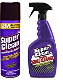 SuperClean 314200 17oz Aerosol Engine Degreaser and 32oz Tough Task Foaming Grill Cleaner, 49. fluid_ounces, 2 Pack
