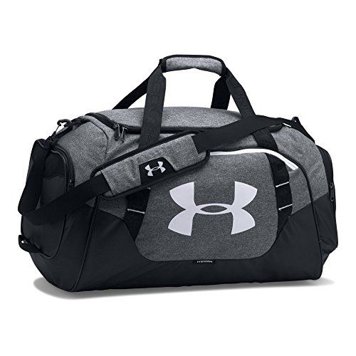 - Under Armour Undeniable Duffle 3.0 Gym Bag, Graphite (041)/White, Medium