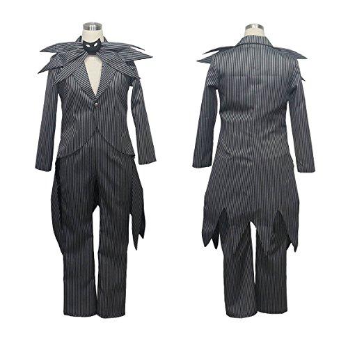 No Brand Women's 3522The Nightmare Before Christmas Jack Skellington Stripe (XXS) (The Nightmare Before Christmas Jack Skellington Adult Costume)