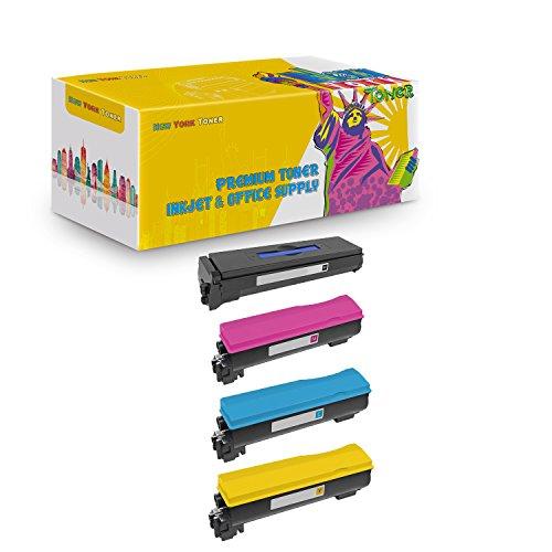 (New York TonerTM New Compatible 4 Pack TK572K TK572C TK572M TK572Y High Yield Toner for Kyocera-Mita - FS C5400 | C5400DN | P7035CDN . -- Black Cyan Yellow Magenta)