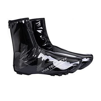 b4435441ab8 Cathy02Marshall Couvre-Chaussures imperméable Couvre-Chaussures Velo Couvre  Chaussure de Cyclisme Imperméable