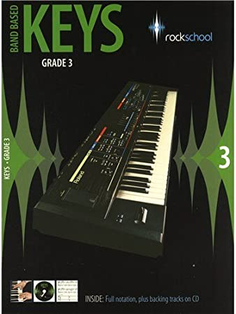 Rockschool: Band Based Keys - Grade 3. Partituras, CD para ...