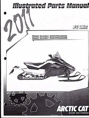 Read Online 2011 Arctic Cat Snowmobile F5 LXR Parts Manual P/N 2258-766 (769) pdf
