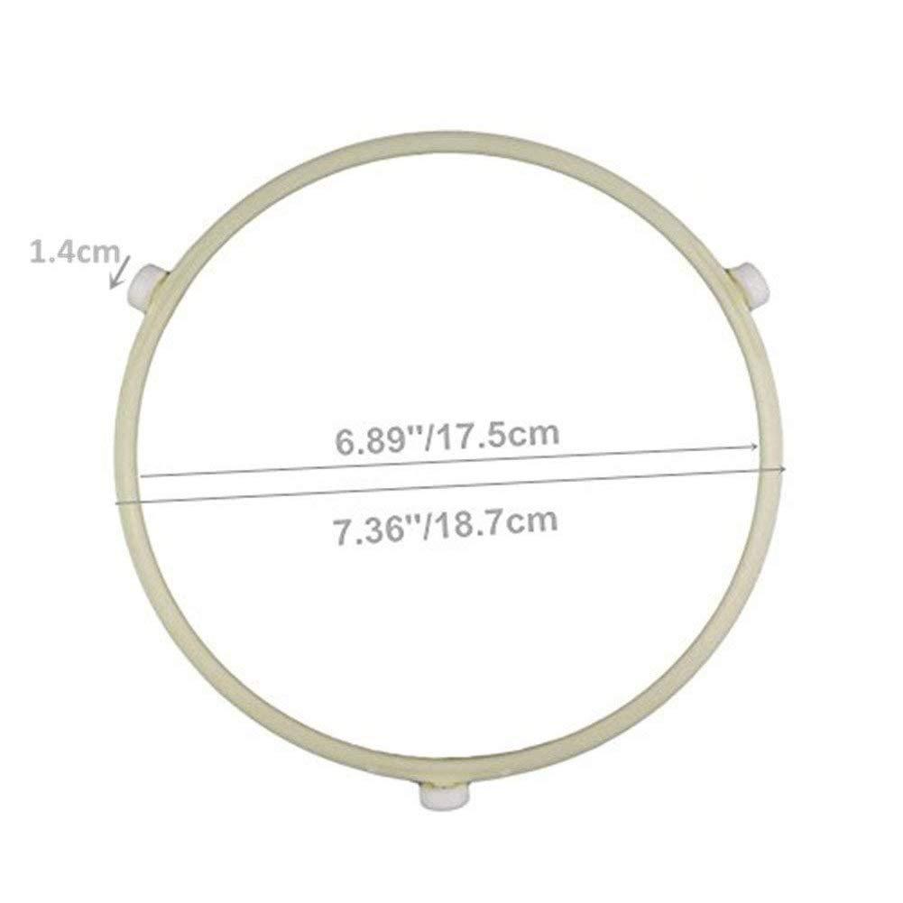 Hilai - Bandeja de horno microondas con diámetro interior de 17,6 ...