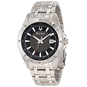 Bulova Men's 96B169 Classic round bracelet Watch