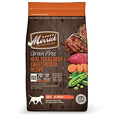 Merrick Grain Free Dry Dog Food Recipe