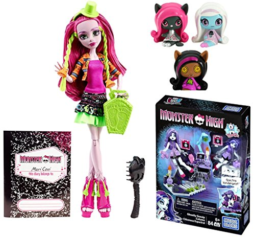 Homemade Wolf Costumes For Kids (Monster High Minis Rag Doll Ghouls Clawdeen Wolf, Sparkling Candy Ghouls Abbey Bominable Original Ghouls Catty Noir Figures, 3 Pack PLUS Exchange Program Marisol Coxi Doll)