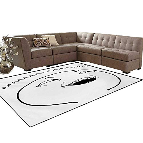Humor Kids Carpet Play-mat Rug Cute LOL Guy