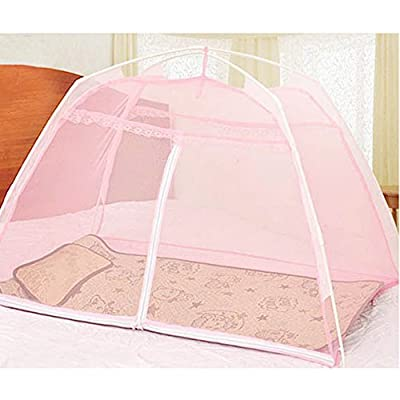 Sealive Children's Baby Mosquito Net Pop Up Mosquito Net,Free Installation Bed Zipper Anti Mosquito Bites