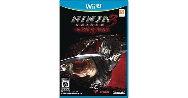 Amazon.com: Ninja Gaiden 3: Razors Edge - Nintendo Wii U ...