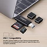 VOGEK SD Card Reader, 3-in-1 USB 3.0 / USB