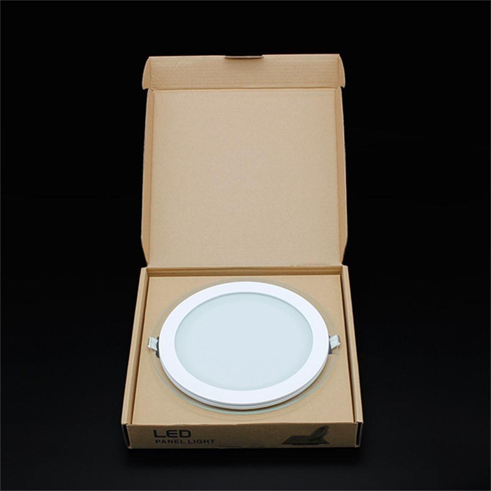 BAODE LED Panel Leuchte Glas Dimmbar Rund Deckenlampe Deckenleuchte ...