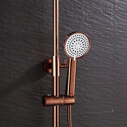 Junson Shower System, Shower Head Sprinkler Shower Suit Bath Antique Turbocharged Cold and Hot Shower