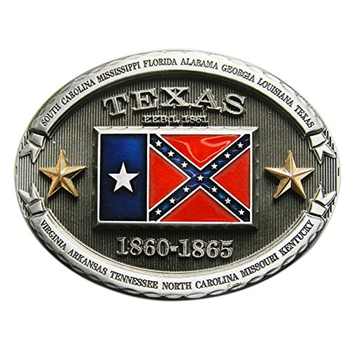 New Vintage Texas Flag Oval Belt Buckle Gurtelschnalle also Stock in - Flag Buckle New Belt