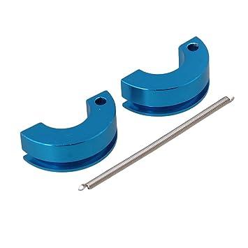 BQLZR azul aluminio zapata de embrague primavera 122273 piezas de actualización para HSP RC 1: 10 todos los coches (2 unidades): Amazon.es: Juguetes y ...